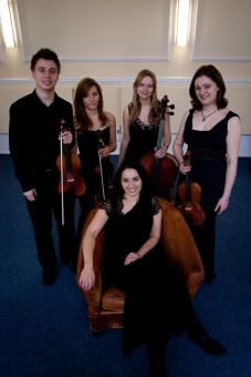 Lisa J Coates and the Eboracum Quartet at the De Grey Rooms 2013